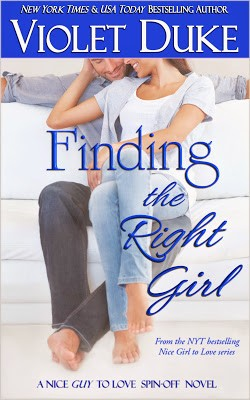 Book Promo & Giveaway: Finding the Right Girl by Violet Duke
