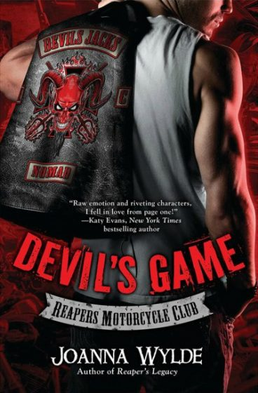 Cover Reveal : Devil's Game by Joanna Wylde