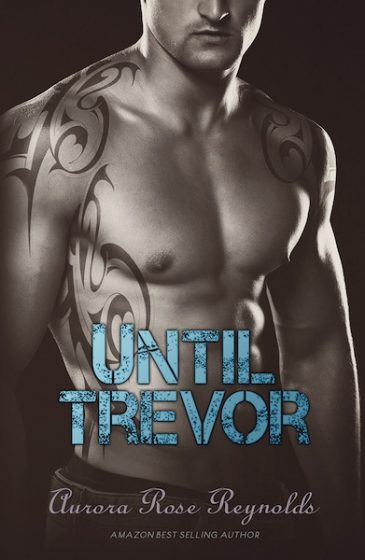 Cover Reveal: Until Trevor (Until #2) by Aurora Rose Taylor