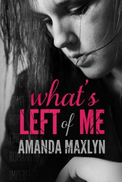 Release Day Blitz & Giveaway: What's Left of Me by Amanda Maxlyn
