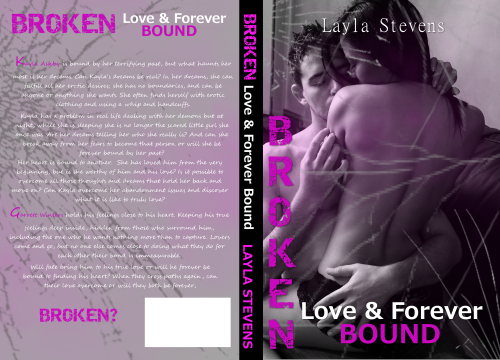 Broken Love and Forever Bound Jacket