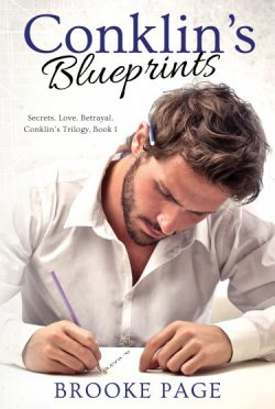 Cover Reveal: Conklin's Blueprints (Conklin's Trilogy, #1) by Brooke Page