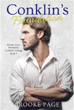 Cover Reveal: Conklin's Foundation (Conklin's Trilogy #2) by Brooke Page