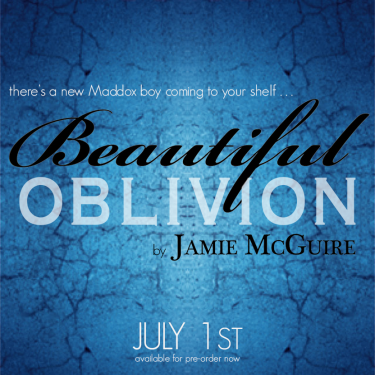 Breaking News: Beautiful Oblivion (Maddox Brothers #1) by Jamie McGuire