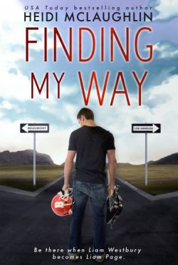 Cover Reveal & Giveaway: Finding My Way (The Beaumont Series #4) by Heidi McLaughlin
