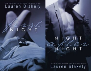Cover Reveal & Giveaway: First Night & Night After Nights (Seductive Nights #0.5 & #1) by Lauren Blakely