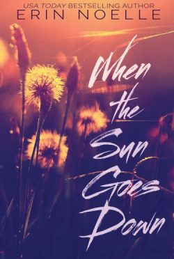 Cover Reveal: When the Sun Goes Down by Erin Noelle
