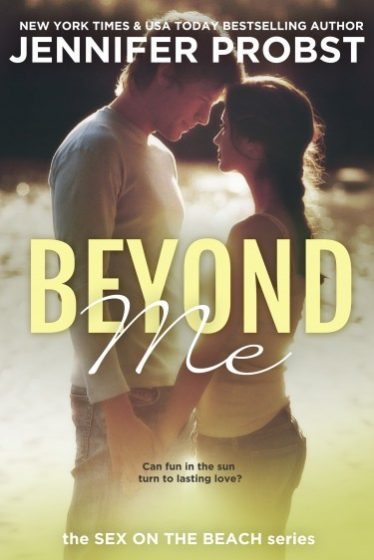 Review & Giveaway: Beyond Me (Sex on the Beach) by Jennifer Probst