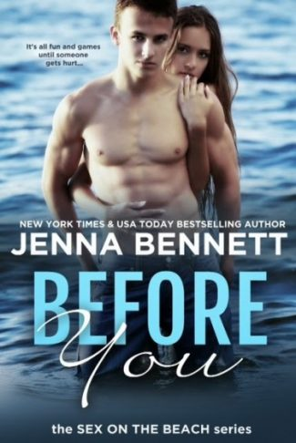 Promo & Giveaway: Before You (Sex on the Beach) by Jenna Bennett