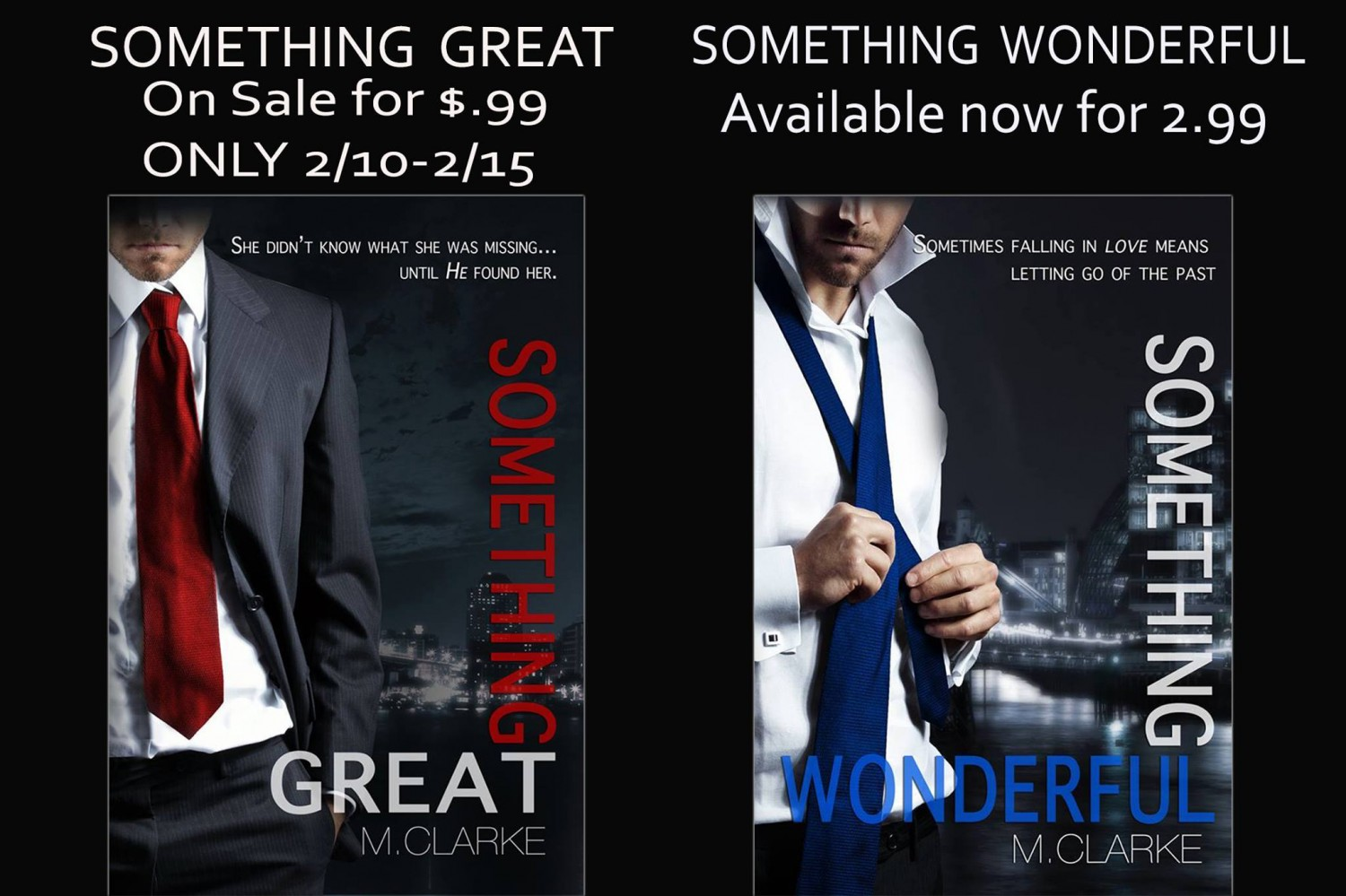 something great sereis sale buttons