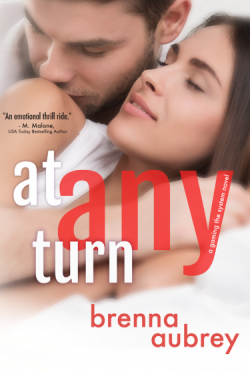 Cover Reveal: At Any Turn (Gaming the System #2) by Brenna Aubrey