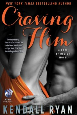 Cover Reveal & Giveaway: Craving Him (Love by Design, #2)  by Kendall Ryan