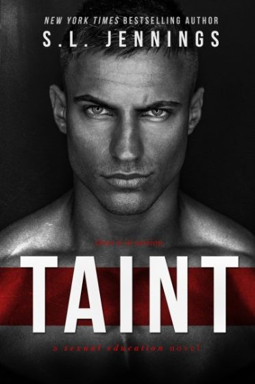 Cover Reveal & Giveaway: Taint by S.L. Jennings