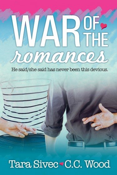 Cover Reveal: War of the Romances by Tara Sivec & C.C. Wood