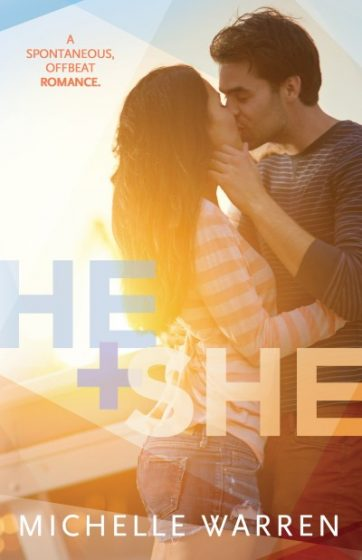 Cover Reveal: He + She by Michelle Warren