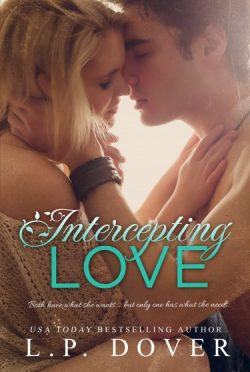 Cover Reveal: Intercepting Love (Second Chances #5) by L.P. Dover
