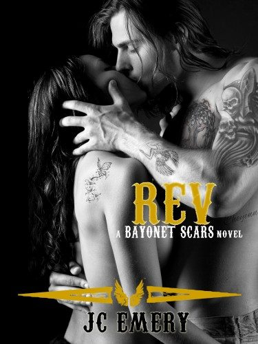 Cover Reveal: Rev (Bayonet Scars #3) by J.C. Emery