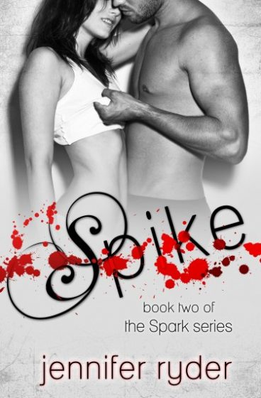 Cover Reveal & Giveaway: Spike (Spark #2) by Jennifer Ryder