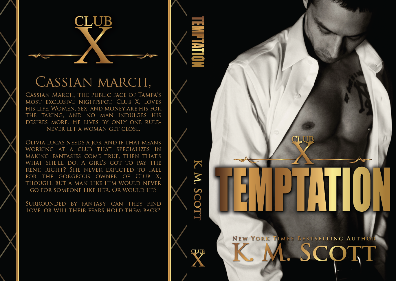 Series Cover Reveal & Giveaway: Club X by K M  Scott – Books to Breathe