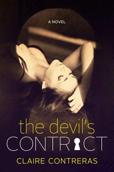 Cover Reveal: The Devil's Contract by Claire Contreras