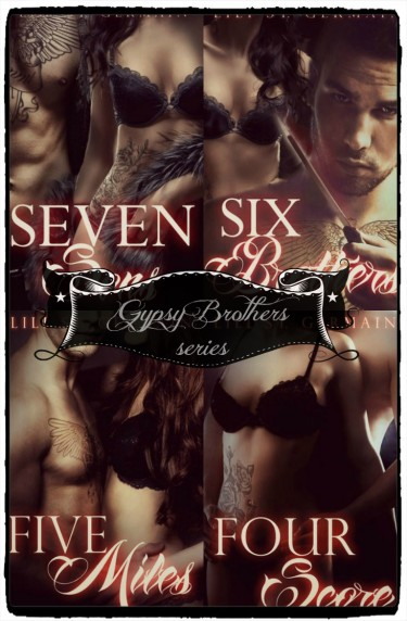 Spotlight & Giveaway: Gypsy Brothers series by Lili St. Germain