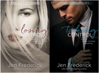 Cover Reveal: Losing Control & Taking Control (Kerr Chronicles #1 & 2) by Jen Frederick