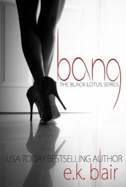 Release Launch: Bang (Black Lotus #1) by E.K. Blair
