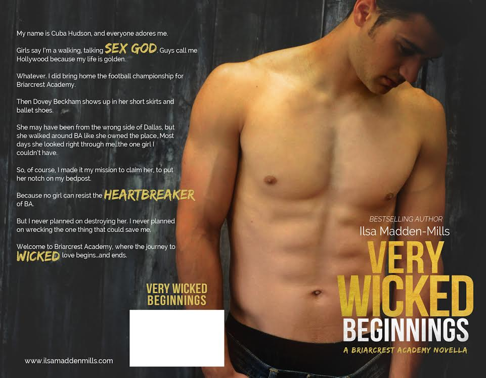 Very Wicked Beginning Prequel Cover