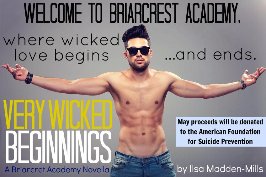 Very Wicked Beginnings Teaser Pic with Charity Info