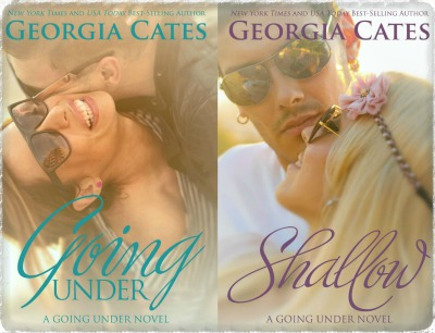 Cover Re-reveal: Going Under & Shallow (Going Under #1 & 2) by Georgia Cates