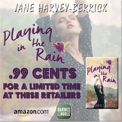 Playing in the Rain Sale Graphic