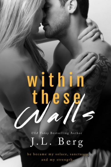 Cover Reveal: Within These Walls by J.L. Berg