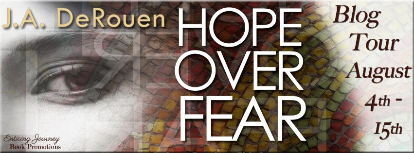 Hope Over Fear Blog Tour Banner