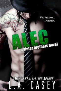 Promo & Giveaway: Alec (Slater Brothers #2) by L.A. Casey