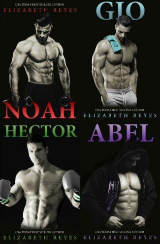 Covers Re-Reveal: 5th Street series by Elizabeth Reyes