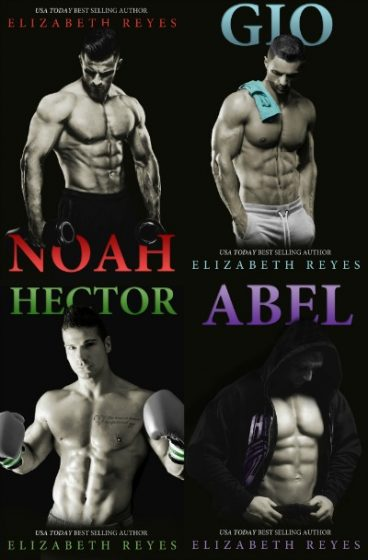Covers Re-Reveal: 5th Street series by Elizabeth Reyes