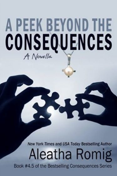 Cover Reveal: A Peek Beyond the Consequences (Consequences #4.5) by Aleatha Romig