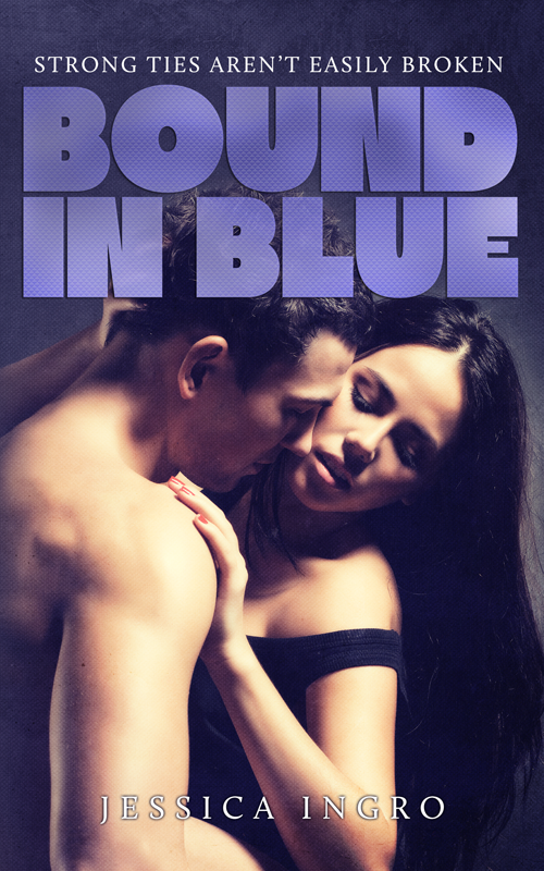 Bound in Blue Front Cover