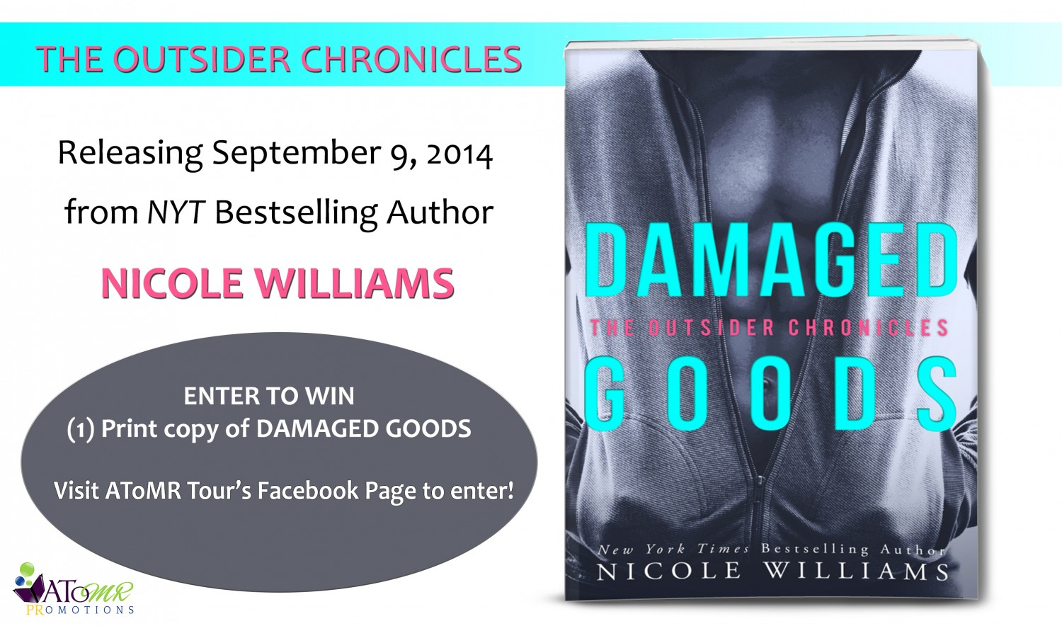 Damaged Goods Cover Reveal Giveaway