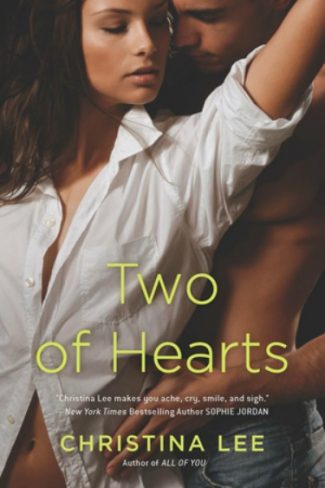 Cover Reveal: Two of Hearts by Christina Lee