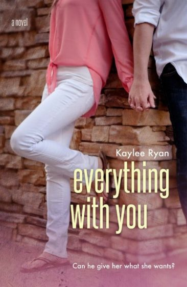 Cover Reveal & Giveaway: Everything with You (With You #3) by Kaylee Ryan