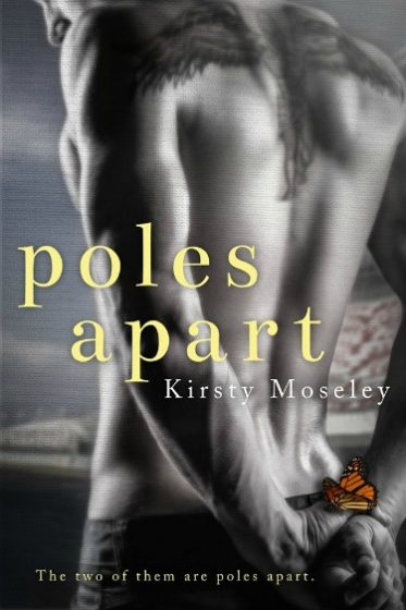 Cover Reveal: Poles Apart by Kirsty Moseley