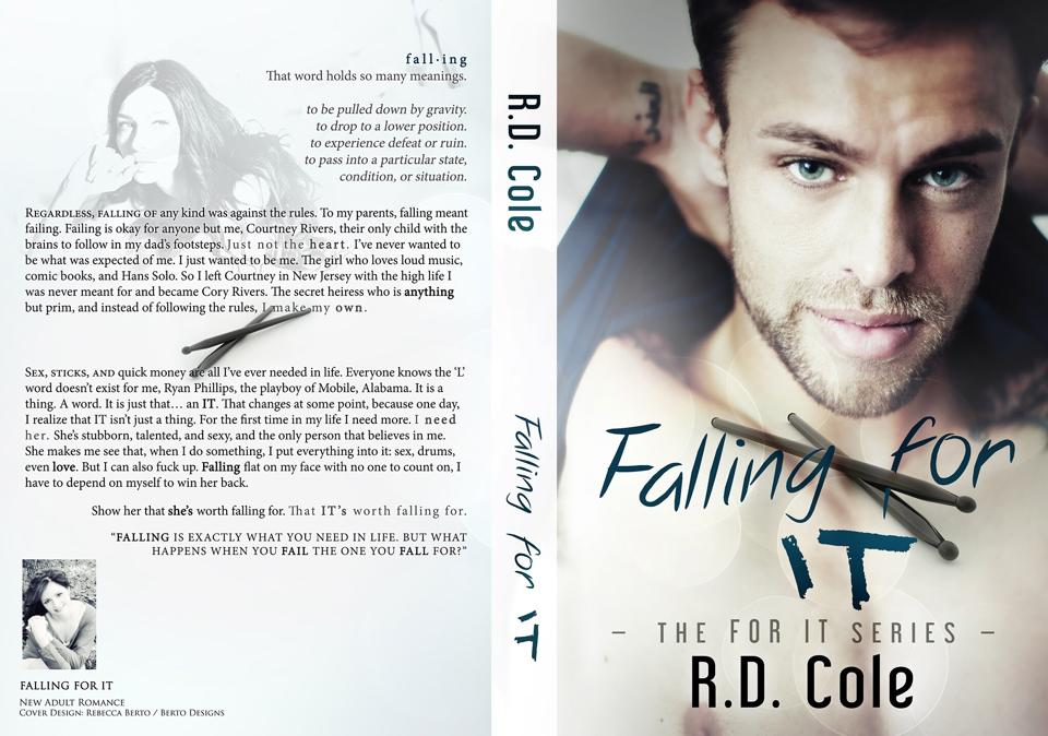 Falling For It Cover Jacket