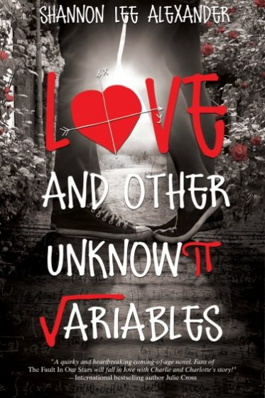 Release Day Blast: Love and Other Unknown Variables by Shannon Lee Alexander