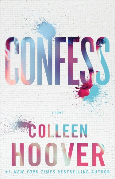 Cover Reveal: Confess by Colleen Hoover