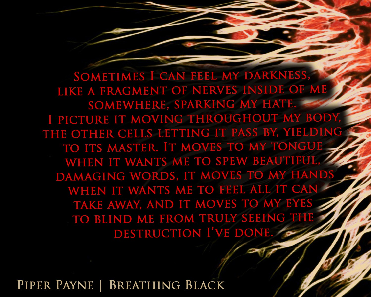 Breathing Black Quote  Nerves