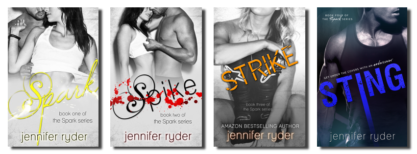 Jennifer Ryder Spark series