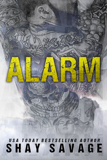 Cover Reveal: Alarm by Shay Savage