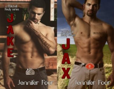 Double Cover Reveal: Jake & Jax (The Mitchell/Healy Family #4 & 5) by Jennifer Foor