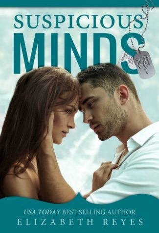 Cover Reveal & Giveaway: Suspicious Minds (Fate #3) by Elizabeth Reyes